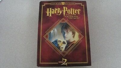Harry Potter and the Chamber of Secrets Ultimate Edition Year 2 Blu Ray