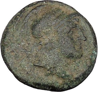 Alexander I Balas Seleucid Kingdom 150BC Rare Ancient Greek Coin Nike i48420