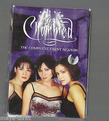Charmed - The Complete First Season (DVD, 2005, 6-Di...
