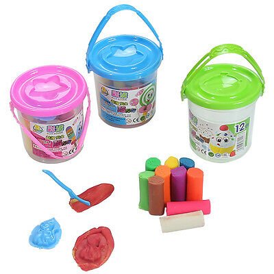 15Pcs Kids Play Dough Doh Clay Modeling Cutter Tool Toy Plasticine Toys Sets New