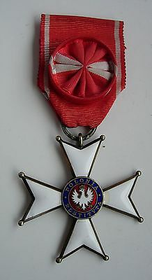 GENUINE  ORDER OF POLAND POLONIA RESTITUTA 1918 IV class