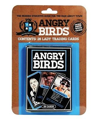 JOB LOT Angry Birds Lady Trading Cards Game - Adult Stag Night Fun x 100