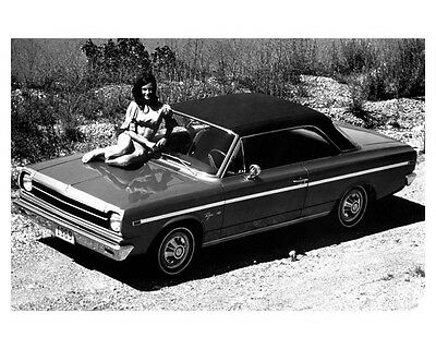 1969 AMC Rambler Rogue Factory Photo ca2083