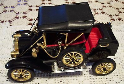 1914 Model T Car Detailed Headlights Exhaust Smoke Whistles Battery Op Excellent