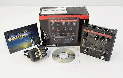 TC Helicon VoiceTone Harmony G-XT Vocal Harmony Effects Pedal - In Box
