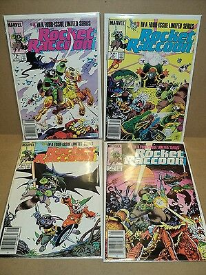 Rocket Raccoon 1-4 COMPLETE SET Nice! Guardians of Galaxy GotG (set# 4446)