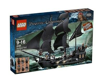 LEGO Pirates of the Caribbean 4184 THE BLACK PEARL New / Sealed