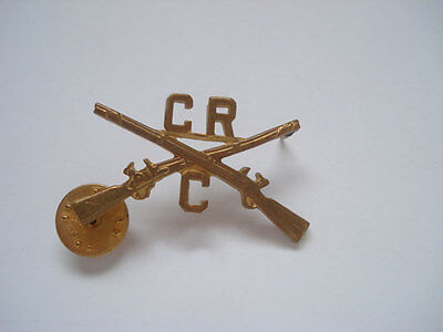 C R Infantry Hat Device