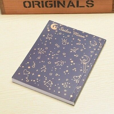 Neuf Anime Sailor Moon Crystal Cosplay cahier Bloc de Note Papier Notebook
