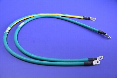 2 Belden 27' 6 Awg Grounding Wire Molex Professionally Terminated w/ Sumitomo