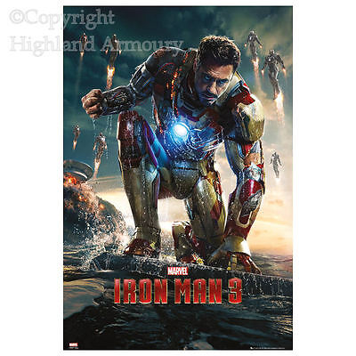 Iron Man 3 Teaser Poster Large 61 x 91.5cm Official Marvel Super Hero Maxi New