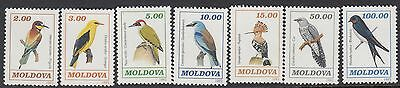 MOLDOVA :1993 Birds set SG 63-9 unmounted mint