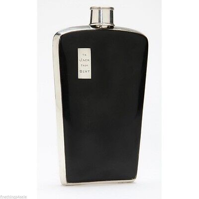 CLASSIC ART DECO NAPIER STERLING FLASK 16 OZ Size - VIEW OUR FineThings4sale