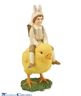 Bethany Lowe BLTD4002 Bunny Boy on Chick New for Easter 2015