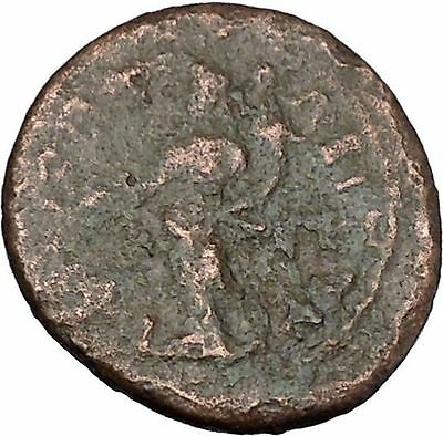 Commodus son of Marcus Aurelius Rare Ancient Roman Coin Tyche Fortuna i48493
