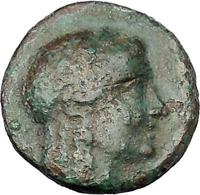 Antiochos III Megas 222BC Apollo Tripod SELEUKID Ancient Greek Coin i47180