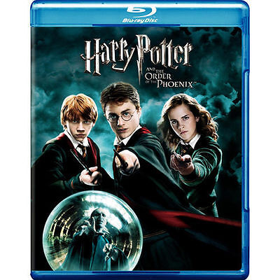 Harry Potter and the Order of the Phoenix [Blu-ray], Good DVD, Daniel Radcliffe,