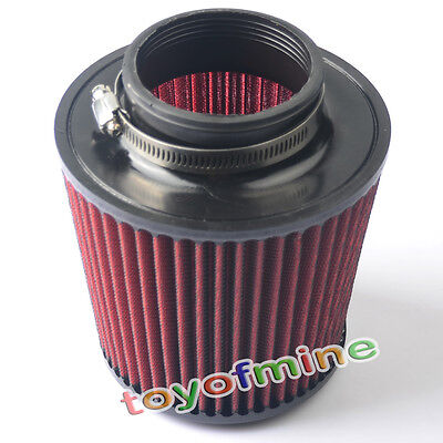 """3"""" Car Cold Air Intake Filter 76mm and 160mm Height H8"""
