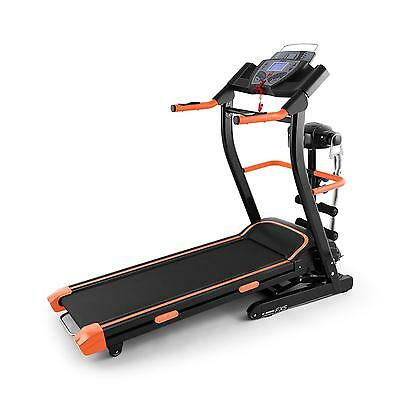 Top Laufband Fitness Station Heimtrainer Fitnessgerät Lcd-Display 500W Silber