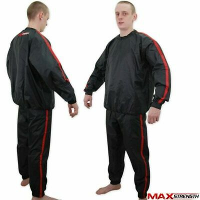 Heavy Duty Sauna Sweat Track Suit Home Gym Fitness Exercise Weight Loss Anti Rip
