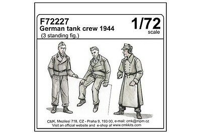 CMK 72227 1:72 GERMAN TANK CREW 1944 (Resin Kit)