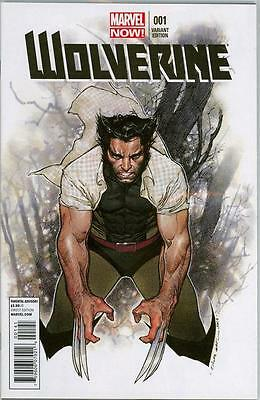 Wolverine #1 Olivier Coipel Retail Variant 1:50 Marvel Now Comics Logan Movie