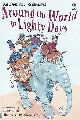Around the World in Eighty Days (Young Reading Series, 2) Verne, Jules, Bingham
