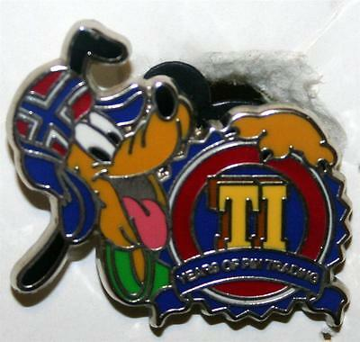 Disney Pin Trading 10th Anniversary - Pluto