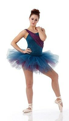 Glitter Ballet Tutu Dance Costume MY OWN WAY Sparkle Child & Adult