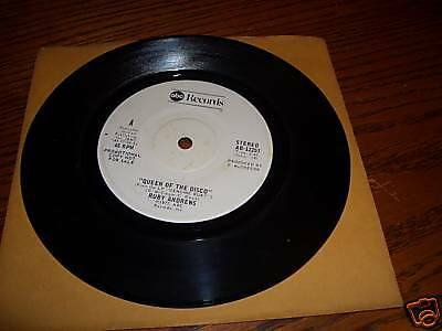 """RUBY ANDREWS QUEEN OF THE DISCO 7"""" 45 RPM RARE PROMO"""