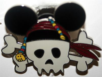 Skull with Mickey Mouse Ears