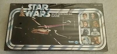 Vintage 1977 Star Wars . Escape From The Death Star Board Game .. Factory Sealed