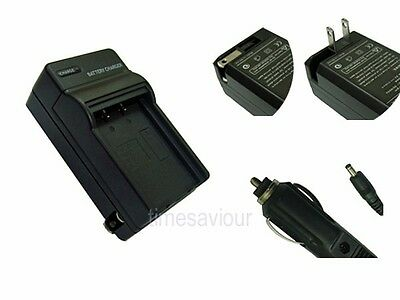 Battery Charger+Adapter for Canon PowerShot G7 G9 S30 S40 S45 S50 S60 S70 S80