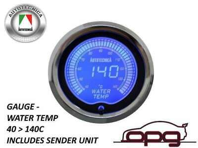 Performance Water Temp 52Mm Lcd Gauge 7 Colour Lighting (1 Guage)