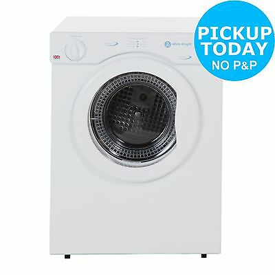 White Knight C372WV Compact Vented Tumble Dryer-Free Argos Store Pick Up Today