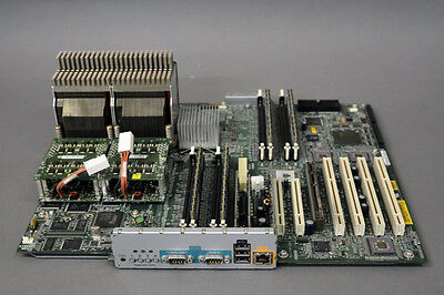 HP AB629A C8000 workstation board complete 2x PA8900 1.1GHz Prozessor 8GB RAM