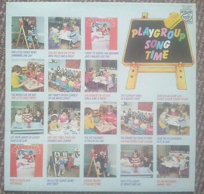 Playgroup Song Time - Leonard Pearcey LP MFP 50350