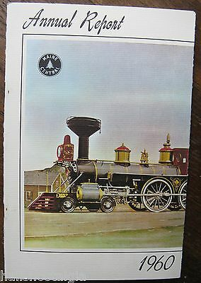 1960 Maine Central Railroad Company Annual Report