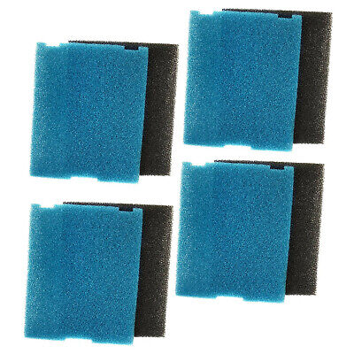 5x HQRP Coarse and Flat Box Filter Pads for Tetra Pond 26592 / FK5 / FK6 / SF1