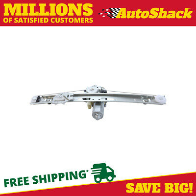New Rear Drivers Side Power Window Regulator with Motor for a BMW 3 Series