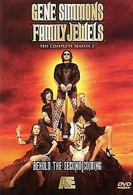 Gene Simmons FAMILY JEWELS Complete Season 2 (DVD SET) two 2nd second SEALED NEW