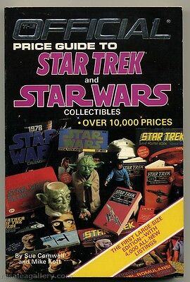 The Official Price Guide to Star Trek & Star Wars Collectibles-1st Ed-Paperback