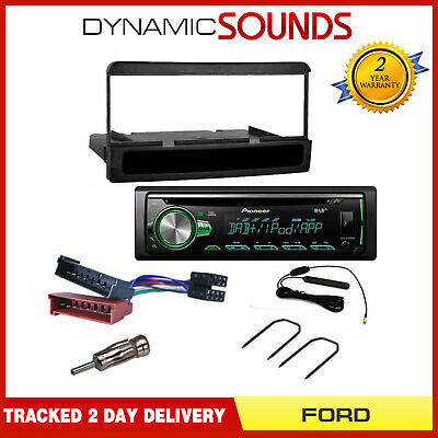 Ford Connect (<2005) Fitting Kit + Pioneer DEH-4900DAB Digital Radio Car Stereo