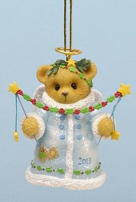 Cherished Teddies You Put The Christmas Twinkle 2013 Dated Bell Ornament NIB