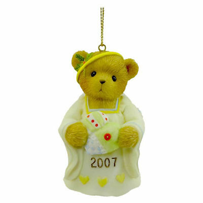 Cherished Teddies Tis The Season To Be Filled With Love Dated 2007 Ornament