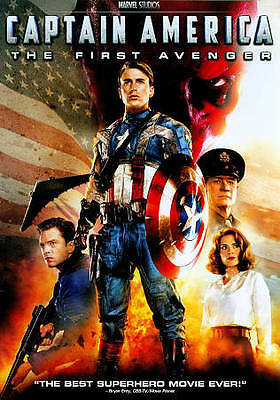 Captain America: The First Avenger (DVD, 2011, Single Disc Edition) VG