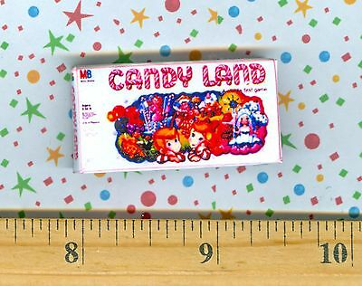 Dollhouse Miniature Size Board Game CANDYLAND  Box
