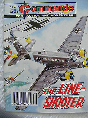 """Commando Comic War Stories In Pictures #  2715 """"the Line-Shooter"""""""