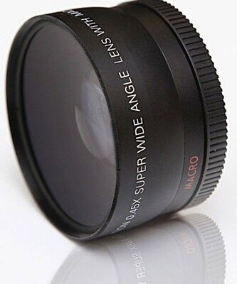 MACRO CLOSE UP and WIDE ANGLE LENS for Canon EF-S 18-55mm 55-250mm f/4-5.6 IS II