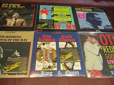 OTIS REDDING Collectors 12 FACTORY SEALED HEAVY VINYL LIMITED EDITION LP Set